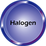 Halogen Button