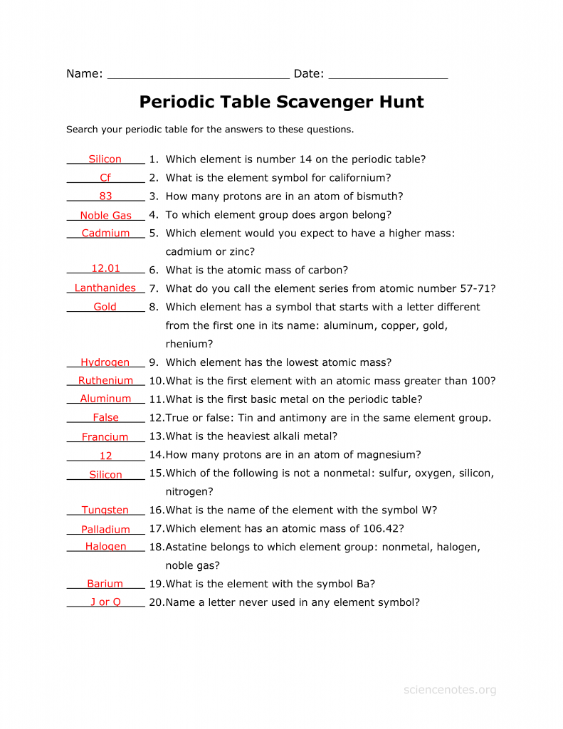 worksheet Scientific Measurement Worksheet scientific measurement worksheet workbook site periodic table scavenger hunt answer key science notes and projects