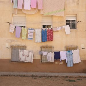 Washing clothes could spread a contaminant to other parts of the item or throughout the load. (schermpeter42)