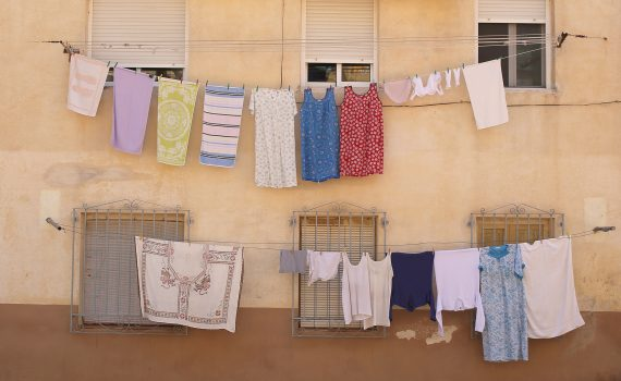 Clothes Hanging Out To Dry (schermpeter42)