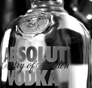 Vodka is used for science experiments because it is a relatively inexpensive form of ethanol in water. (photo credit: Andrew Cheal)