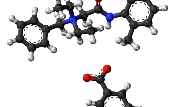 Denatonium Benzoate or Bitrex Chemical Structure
