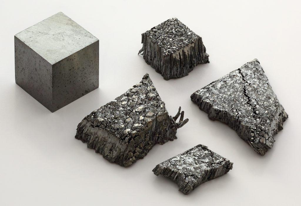 Lutetium Cube and Dendrite Crystals (Alchemist-hp)