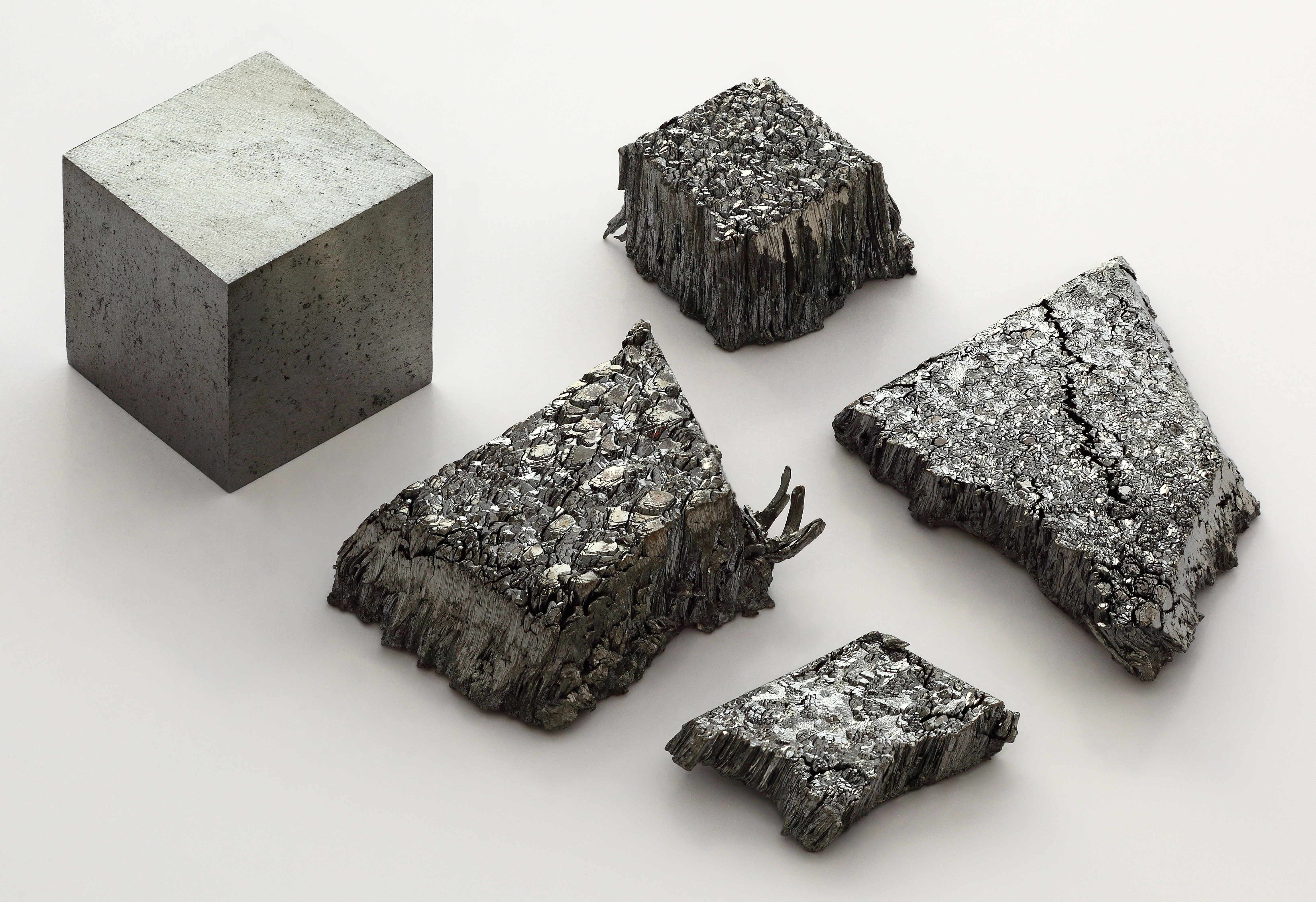 Lutetium Cube and Dendrite Crystals (Alchemist-hp)