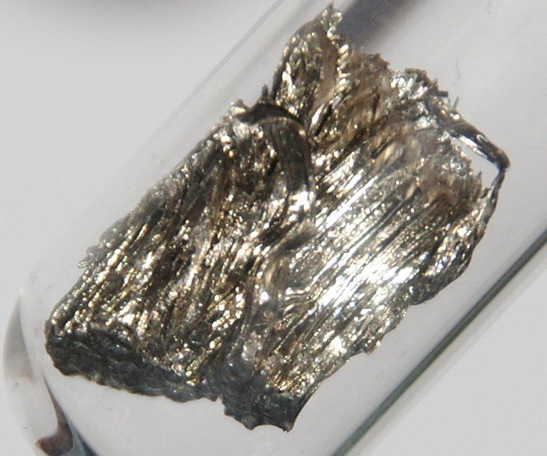Pure Samarium Metal (Materialscientist)