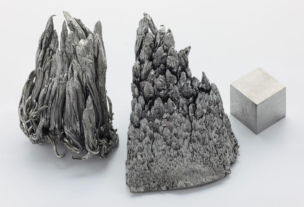 Pure Yttrium Cube and Dendrite Crystals (Alchemist-hp)