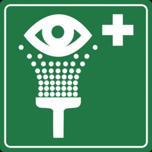 Green Eyewash Symbol (Rafal Konieczny)