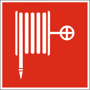 Red Fire Hose Sign (Epop)
