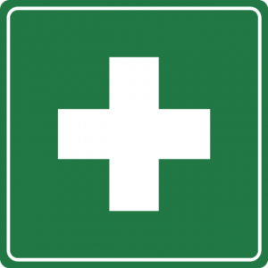 Green First Aid Sign (Rafal Konieczny)