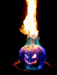 Flamethrower Jack o Lantern