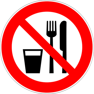 Food and Drinks Prohibited Sign (Torsten Henning)