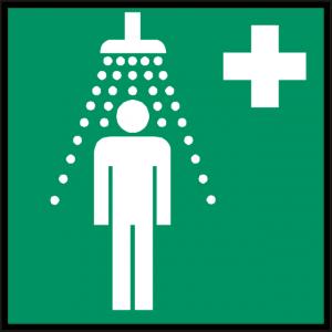 Safety Shower Sign (Epop)