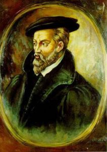 Georgius Agricola (1494 - 1555). Agricola died on November 21 in science history.