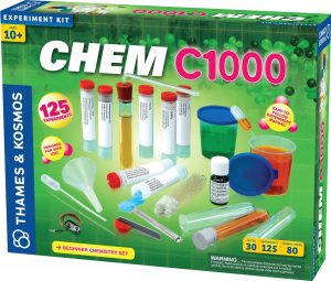 Thames and Kosmos C1000 Chemistry Kit (courtesy Amazon)
