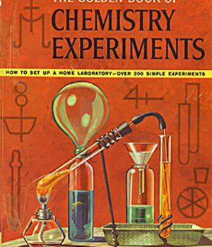 Golden Book of Chemistry Experiment Cover Art