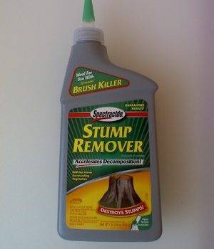 Some types of stump remover are nearly pure potassium nitrate.