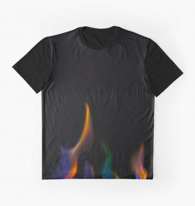 Colorful Flames T-Shirt
