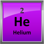 Helium is the second of the 118 elements.