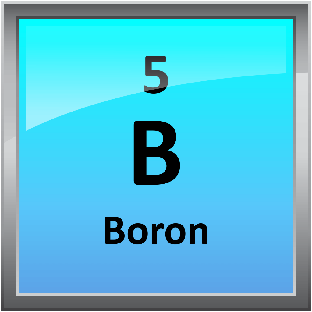 Elemental Symbol for Boron
