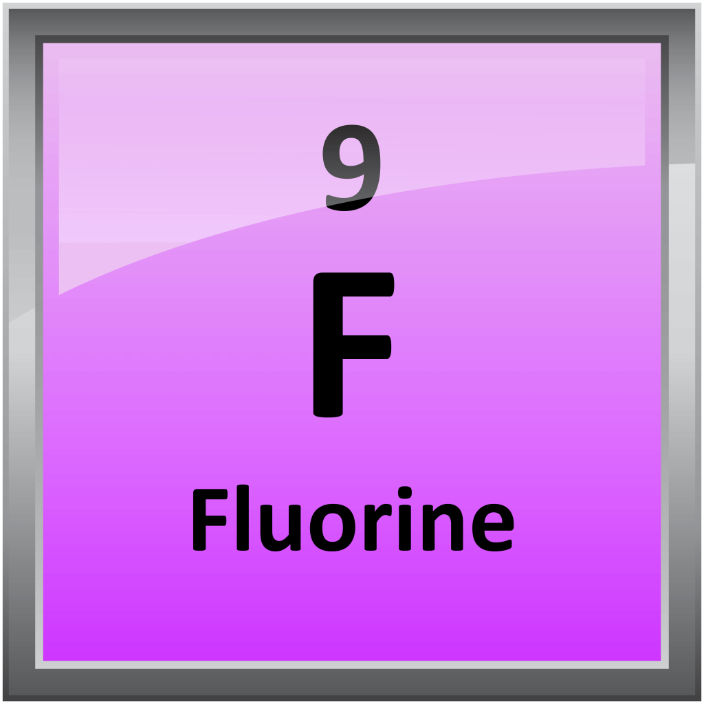 Fluorine Element Symbol Giftsforsubs