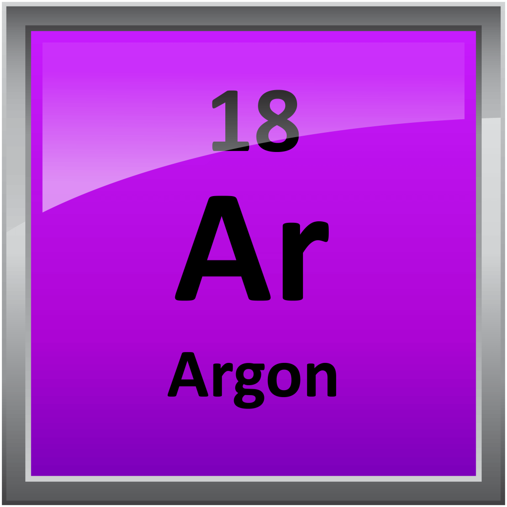 Argon On The Periodic Table 018 Argon Science Notes And