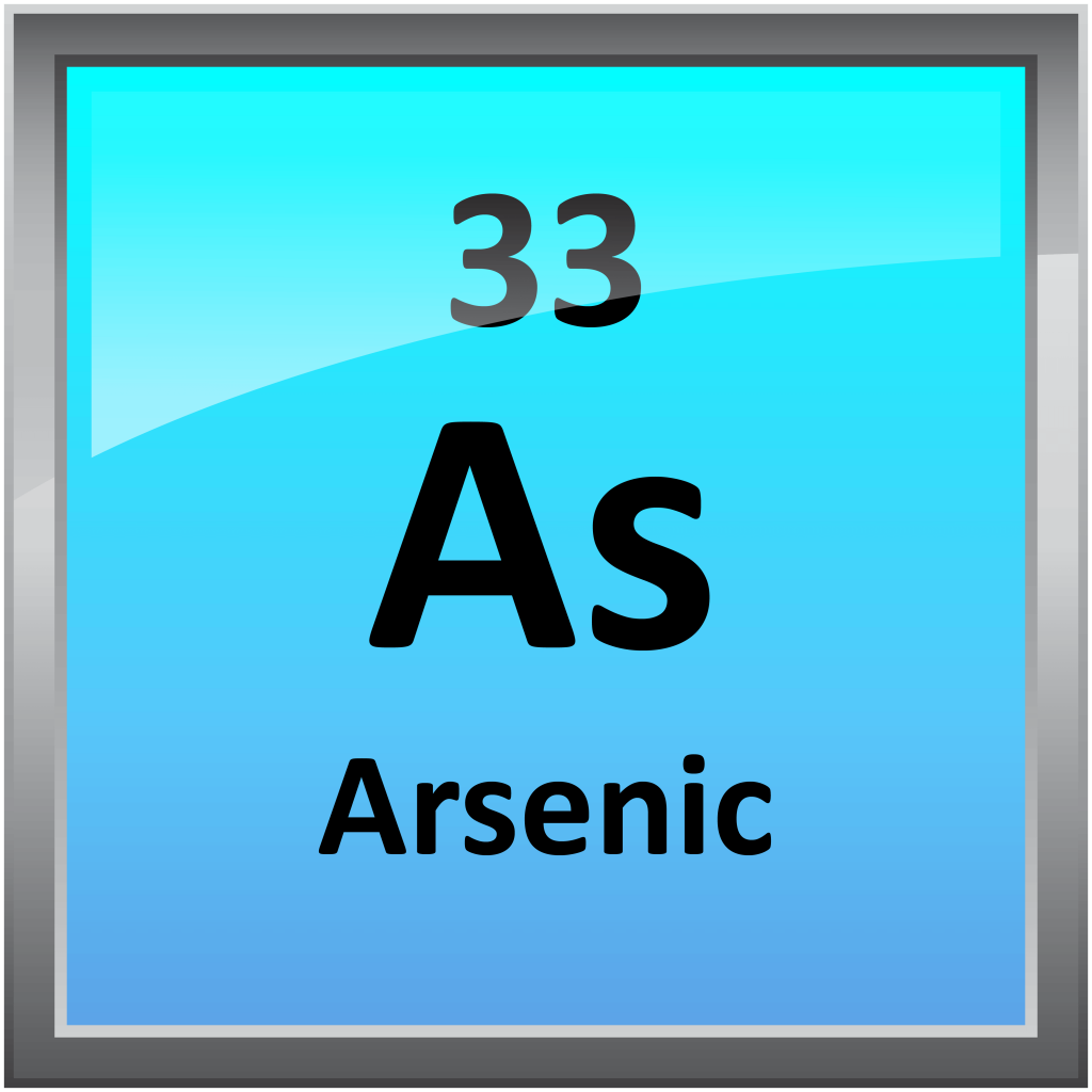 arsenic is a chemical element on A chemical element is a species of atoms having the same number of protons in their atomic nuclei (that is  arsenic, antimony, and bismuth.