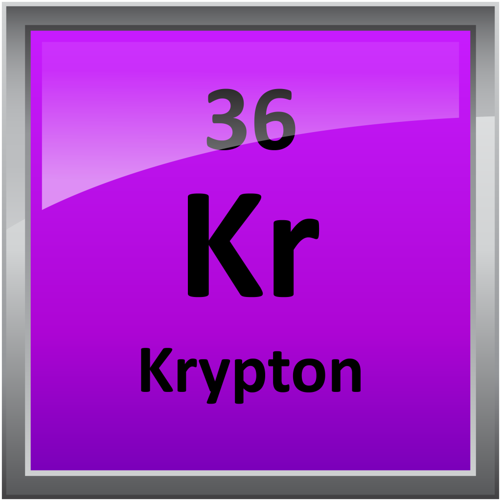 Krypton Element Periodic Table 036-Krypton - Science ...
