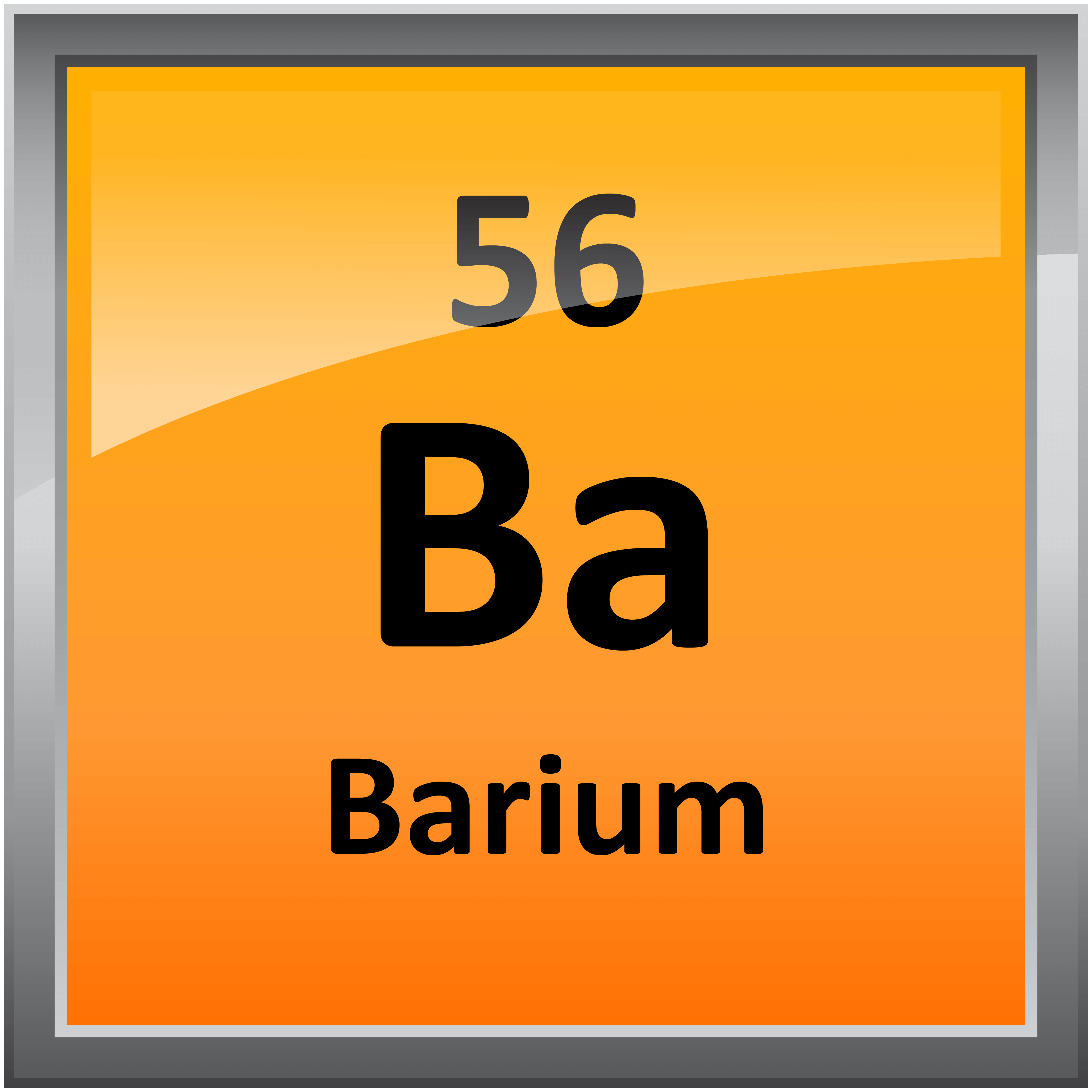 056 barium science notes and projects 4000 in printable periodic table element symbols gamestrikefo Gallery