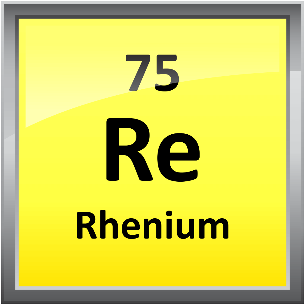 075-Rhenium - Science Notes and Projects