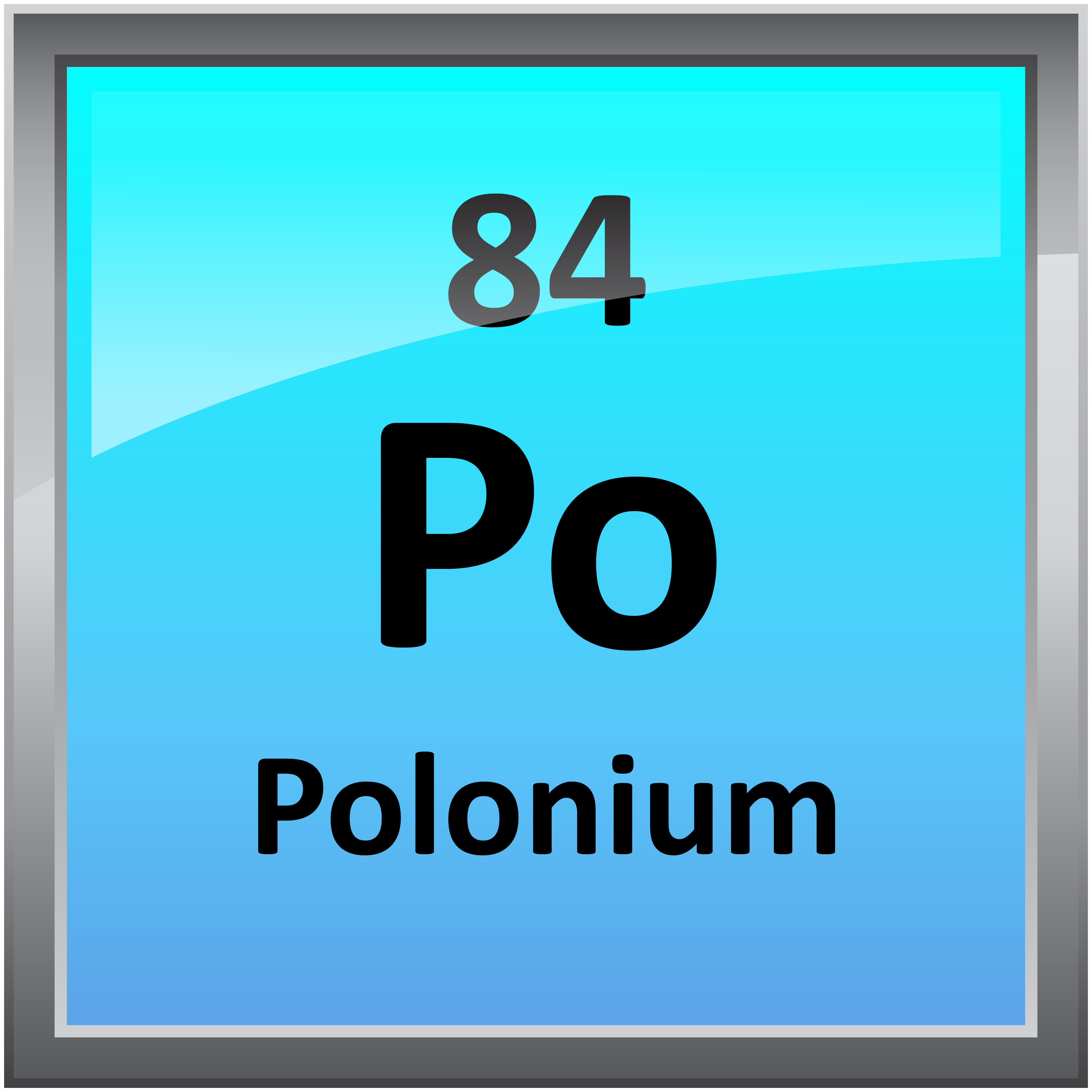 084 polonium science notes and projects 4000 in printable periodic table element symbols gamestrikefo Gallery
