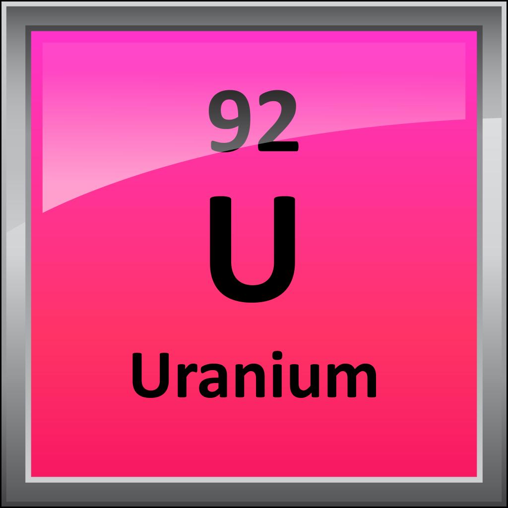 Uranium Symbol 092-Uranium - Sc...