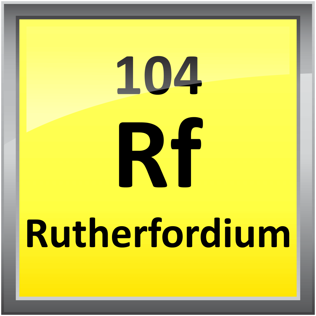 104-Rutherfordium - Science Notes and Projects