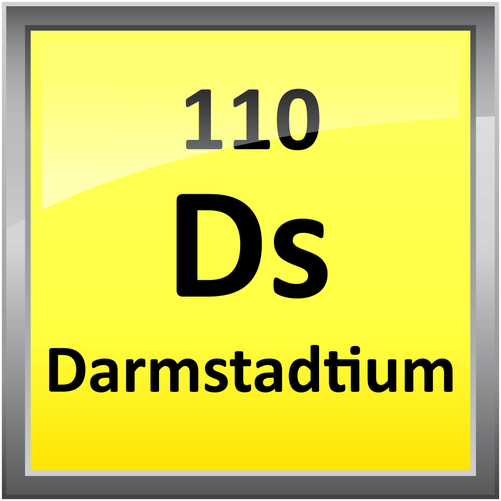110 Element In Periodic Table Of 110 Darmstadtium Science Notes And Projects