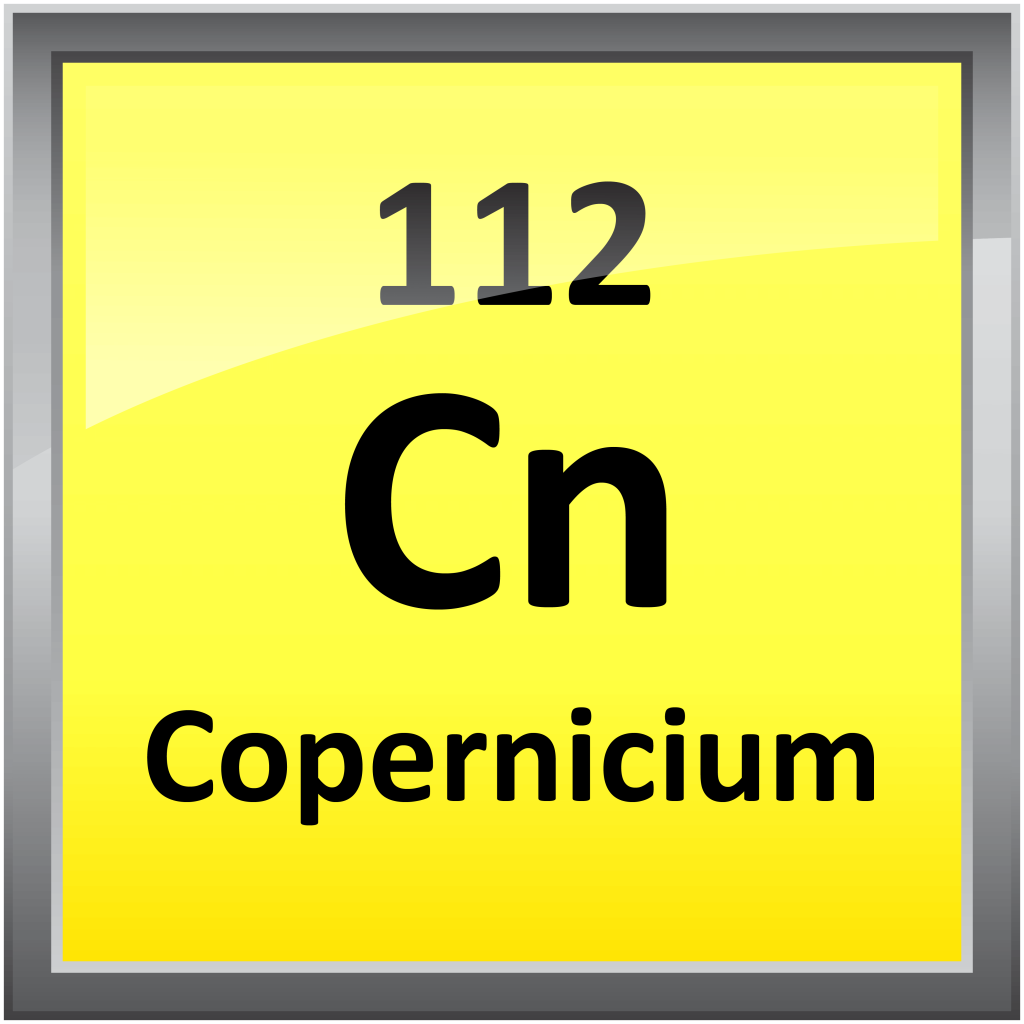 112 copernicium science notes and projects