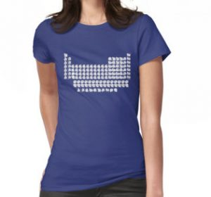 Periodic Table with Cats T-shirt