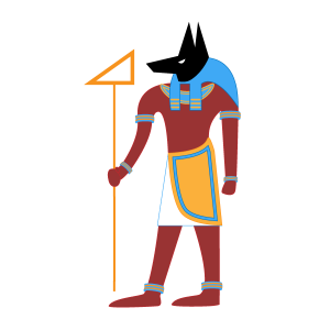 Sohcahtoa isn't actually an Egyptian god, but if it helps to remember him that way, you'll have an easier time recalling right angle trig relationships.