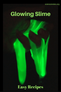 It's easy to make glow in the dark slime. Here are several recipes and tips for getting the brightest glow.
