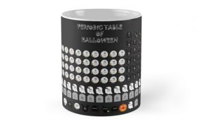 Halloween Periodic Table Mug