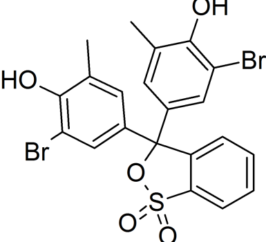 Bromcresol Purple Chemical Structure