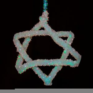 Borax Crystal Star of David (Anne Helmenstine)