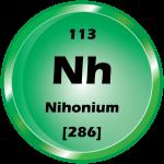 113 - Nihonium Button
