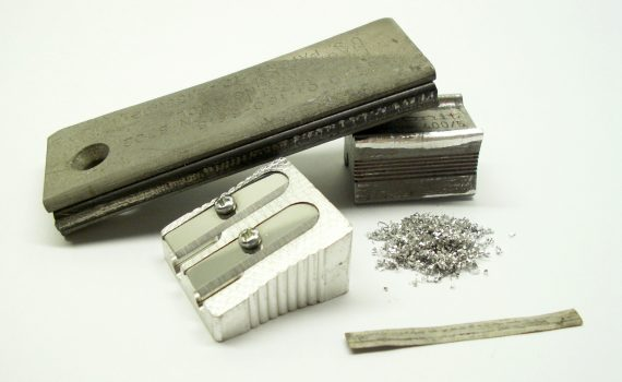 Magnesium is used for pencil sharpeners and firestarters. (Firetwister)