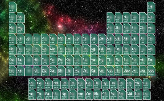 Space Periodic Table