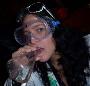 You May Be a Chemist If... you wear safety goggles as a fashion statement. (Mollie Stratton)