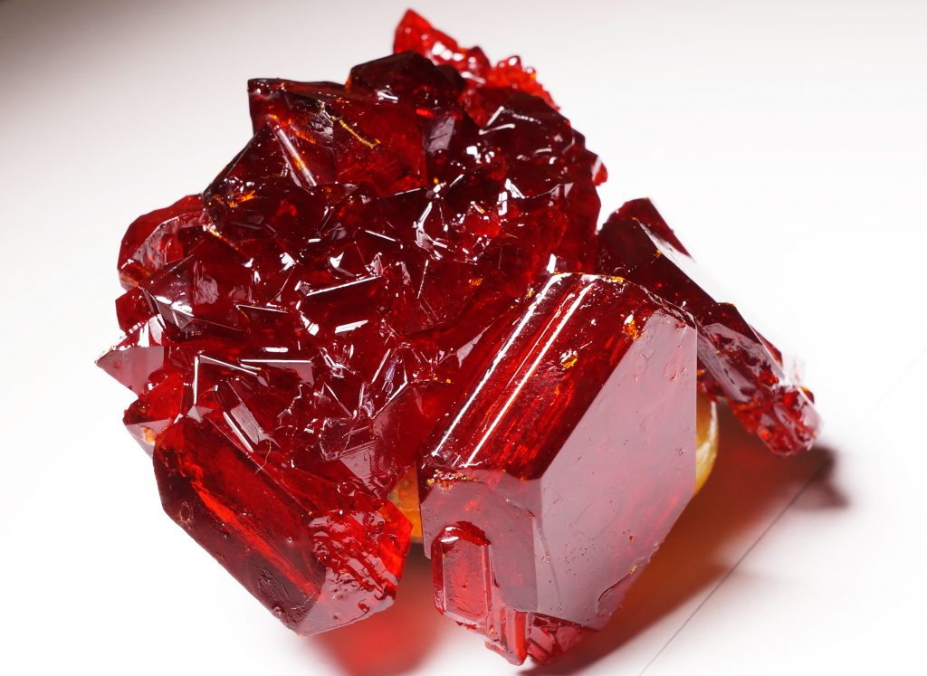 Grow Natural Bright Red Potassium Ferricyanide Crystals