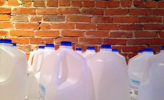 Ever wonder how much a gallon of water weighs? A US gallon is 8.34 lbs or 3.78 kg. (David Mulder)