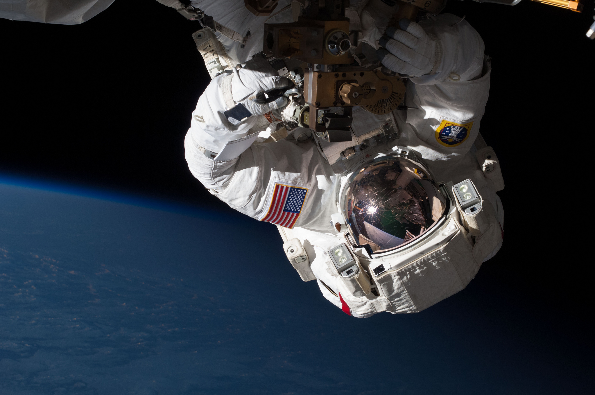 This spacewalk would have been a lot more interesting without the space suit and not necessarily fatal. (NASA)