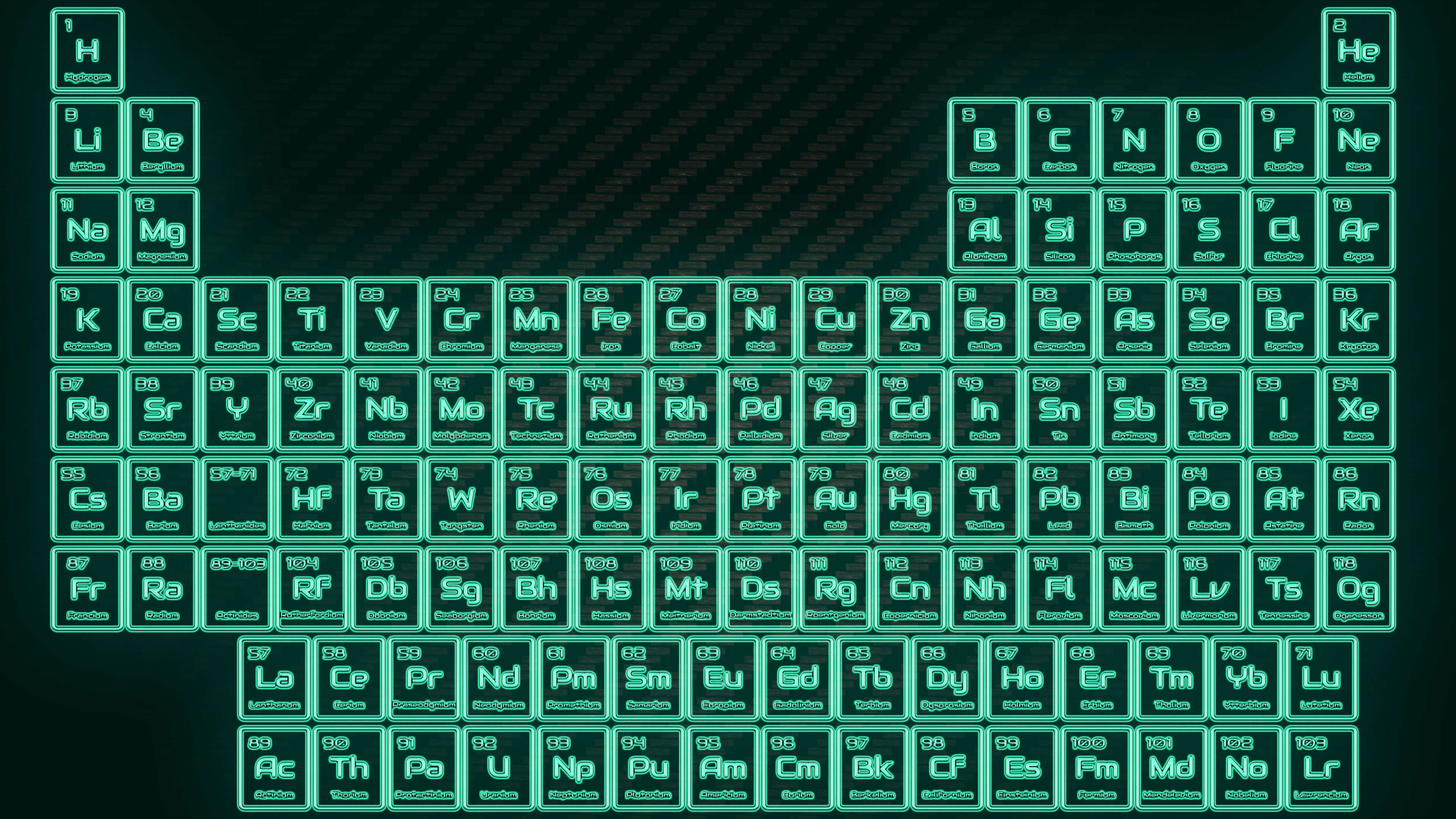 Tritium neon glowing tube periodic table wallpaper science notes tritium neon glowing tube periodic table wallpaper gamestrikefo Image collections