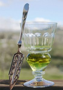 Absinthe is an anise-flavored distilled alcoholic beverage. (Eric Litton)