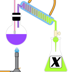 Chemistry Dictionary X Terms Icon